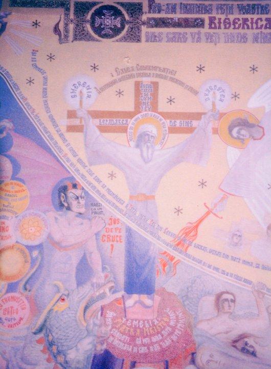 P Arsenie pe cruce