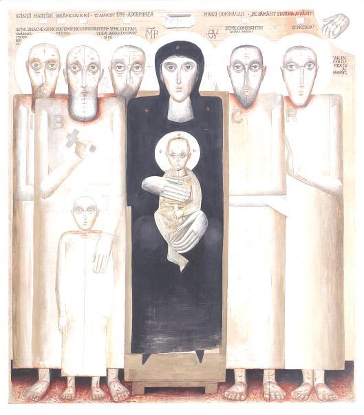 Modelul iconic al muceniciei Brâncovenilor (Sorin Dumitrescu)