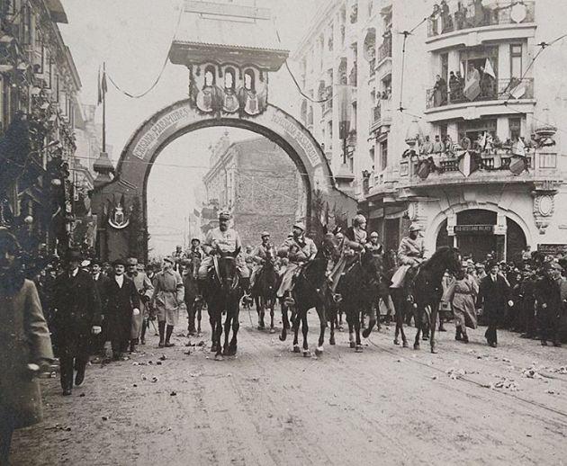 intrarea bucuersti 1 dec 1918